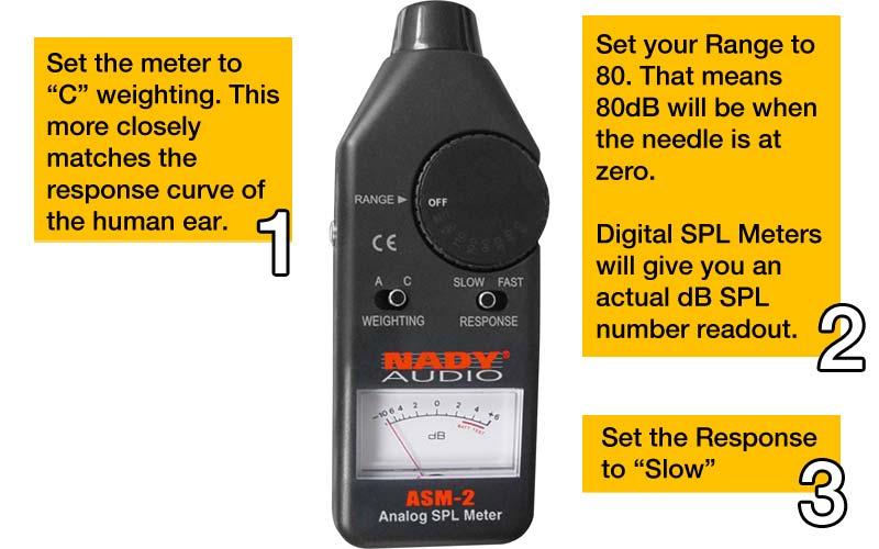 Calibrate Surround Sound Levels