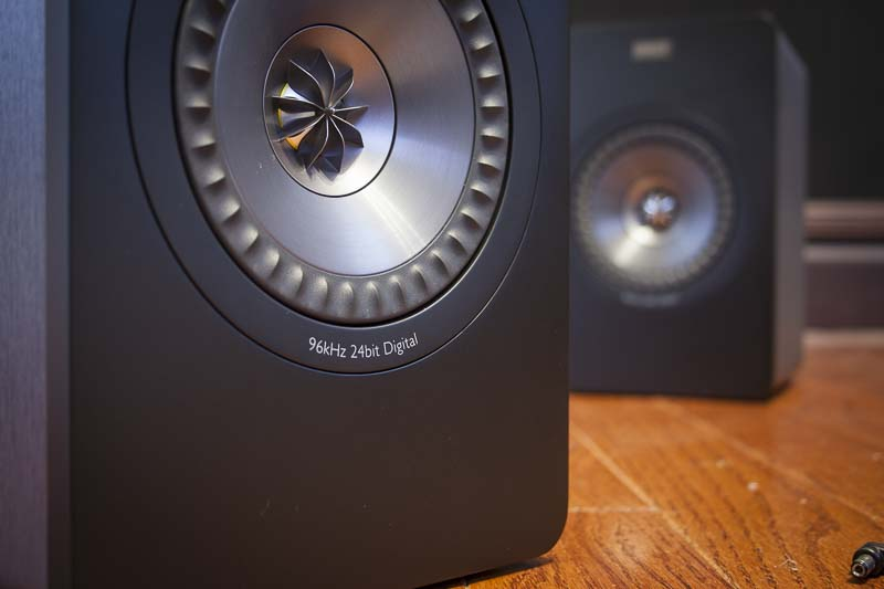 KEF X300A speakers drivers