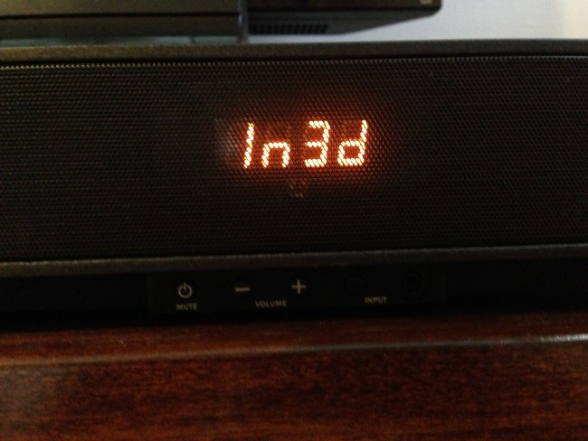 The input code correlates with the input number at the back of the speaker.